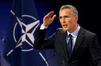 Генсек НАТО: У РФ нет права оспаривать вступление Украины в альянс
